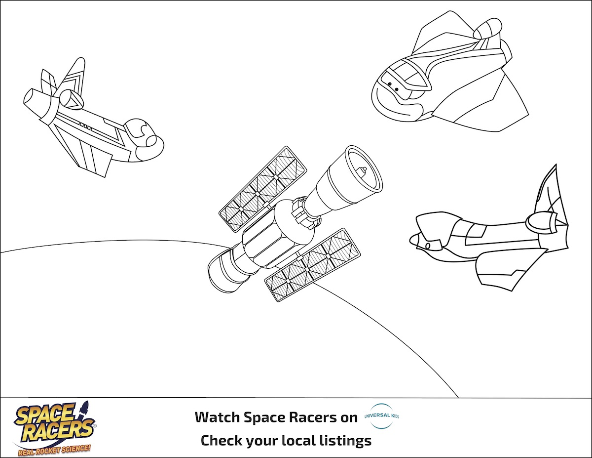 Space Racers Activity