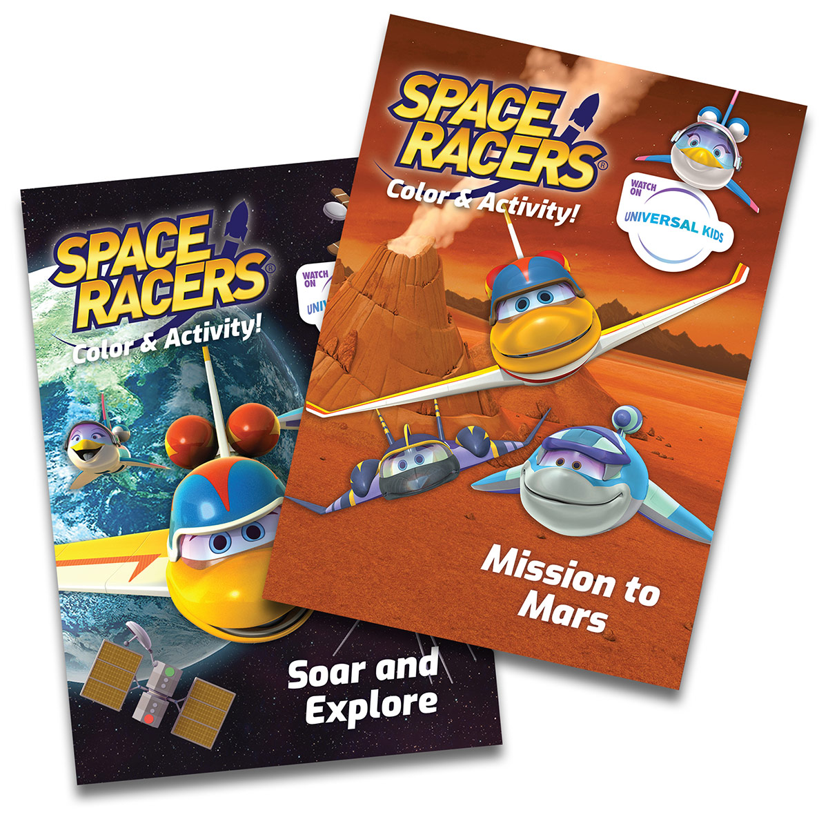 Space Racers Activity Books