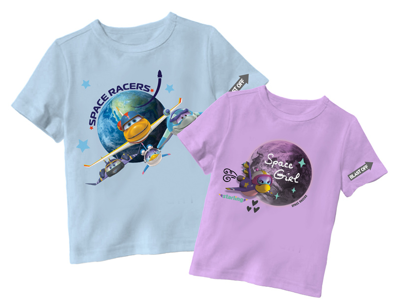 Space Racers T-shirts