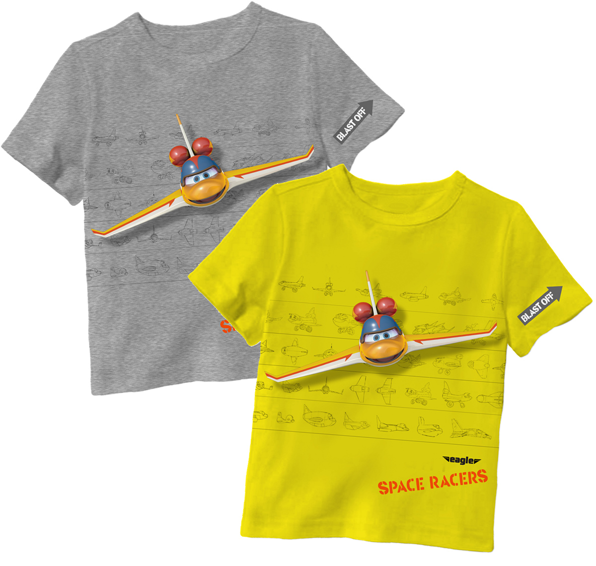 Space Racers T Shirts